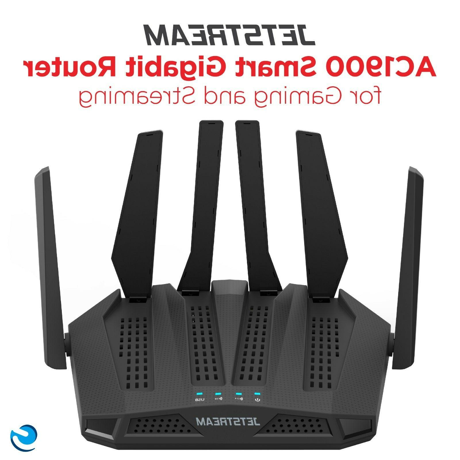 Dual Gaming Router 3000 sq ft. Network Internet LAN