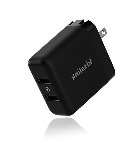kw3220 dual usb wall charger