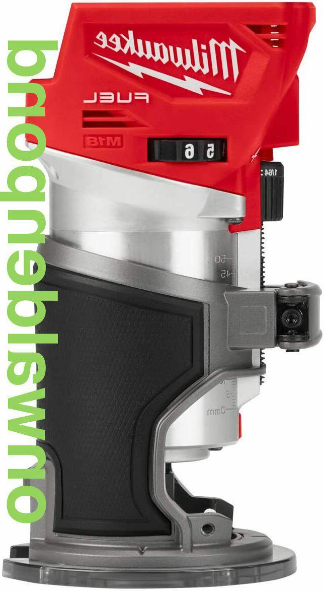 m18 li ion fuel brushless compact router