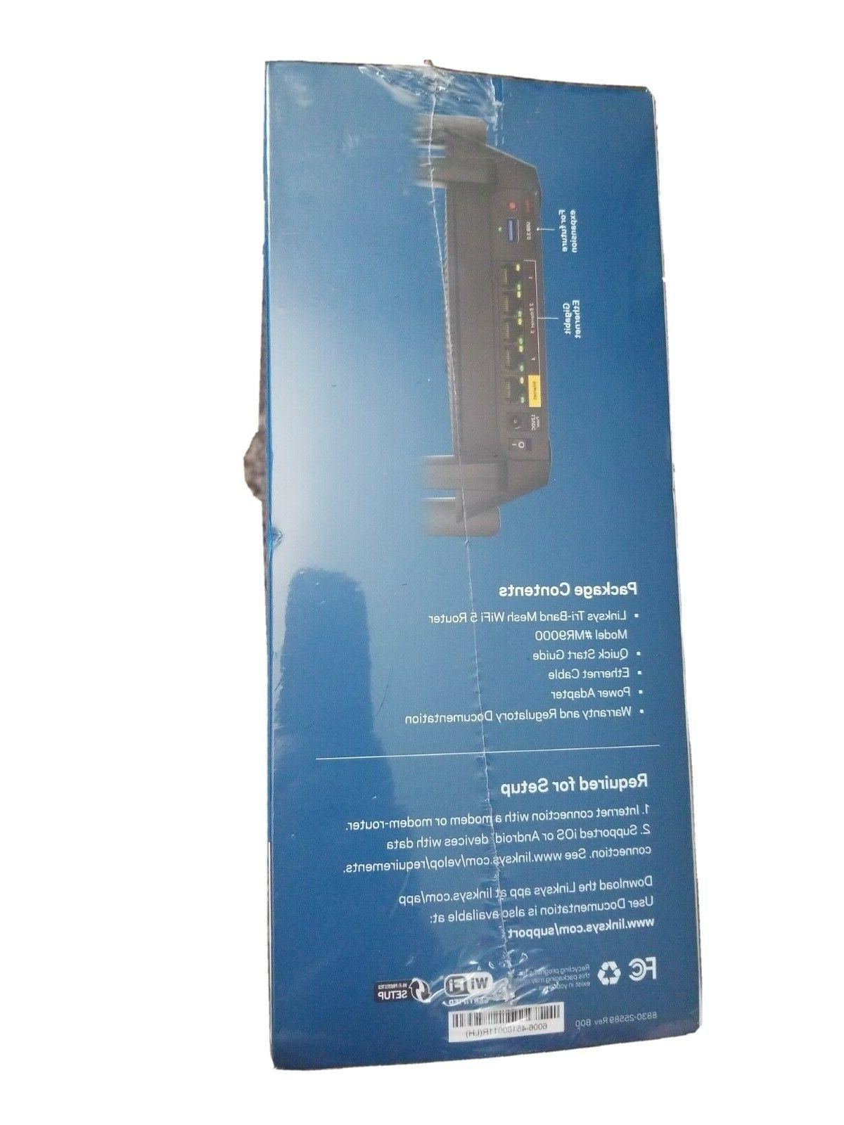 🔥Linksys Tri-Band WIFI Router FACTORY SEALED 🚀