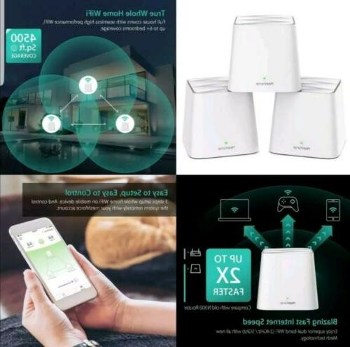 Meshforce Home Wifi System , Band For Sea