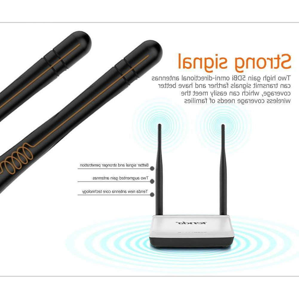 Tenda N300 300Mbps Wireless WiFi Signal Range