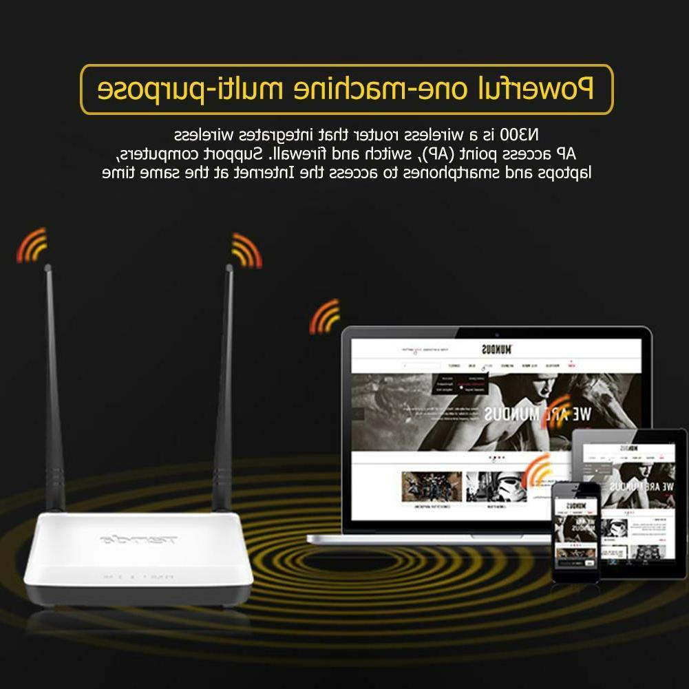 Tenda 300Mbps Wireless WiFi Router