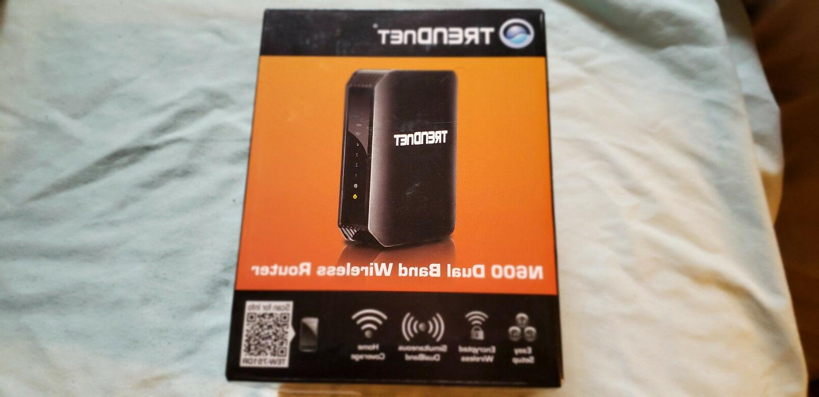 TRENDnet N600 Dual Band Wireless ROUTER