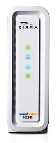 DOCSIS 3.1 32x8 Modem Packaging- White