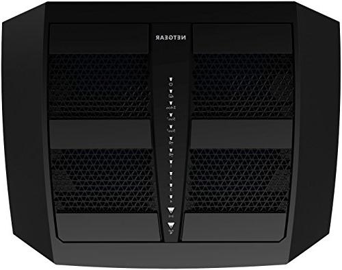 Netgear R8000-100PAS X6 Wireless Router Black