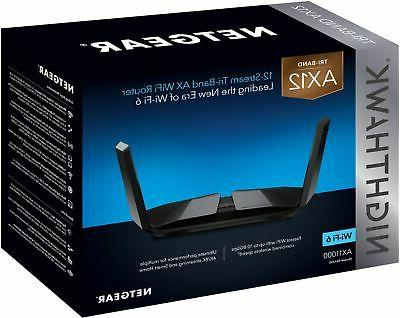NETGEAR Tri-Band - Black