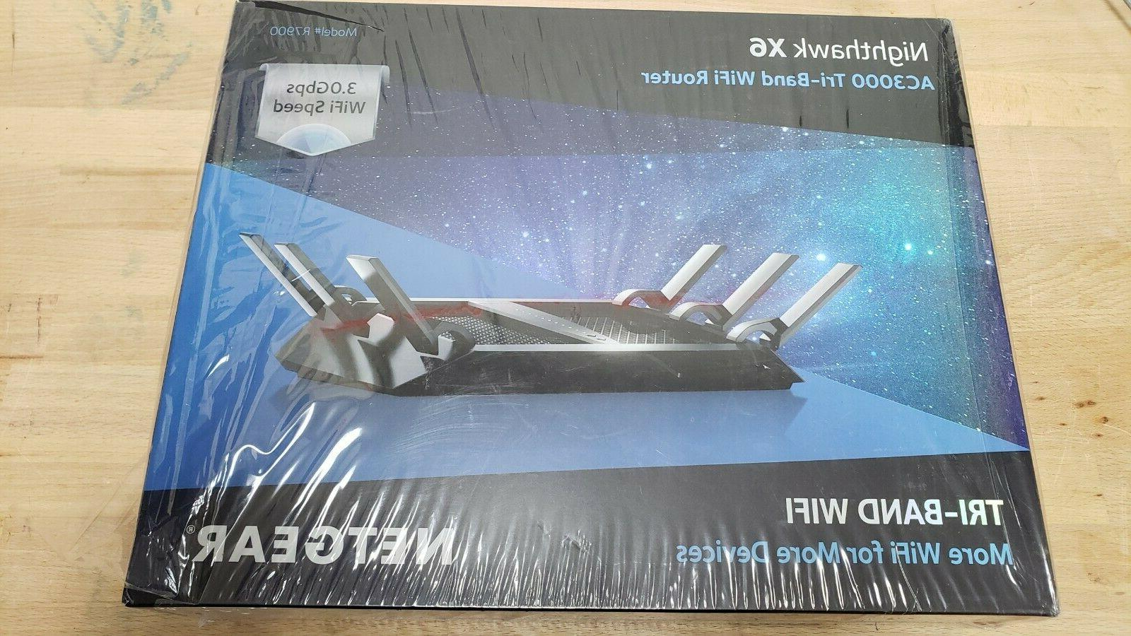 nighthawk x6 ac3000 tri band smart wifi