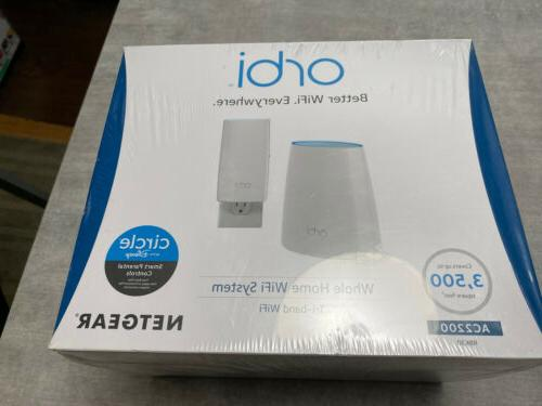 orbi tri band router home wifi kit