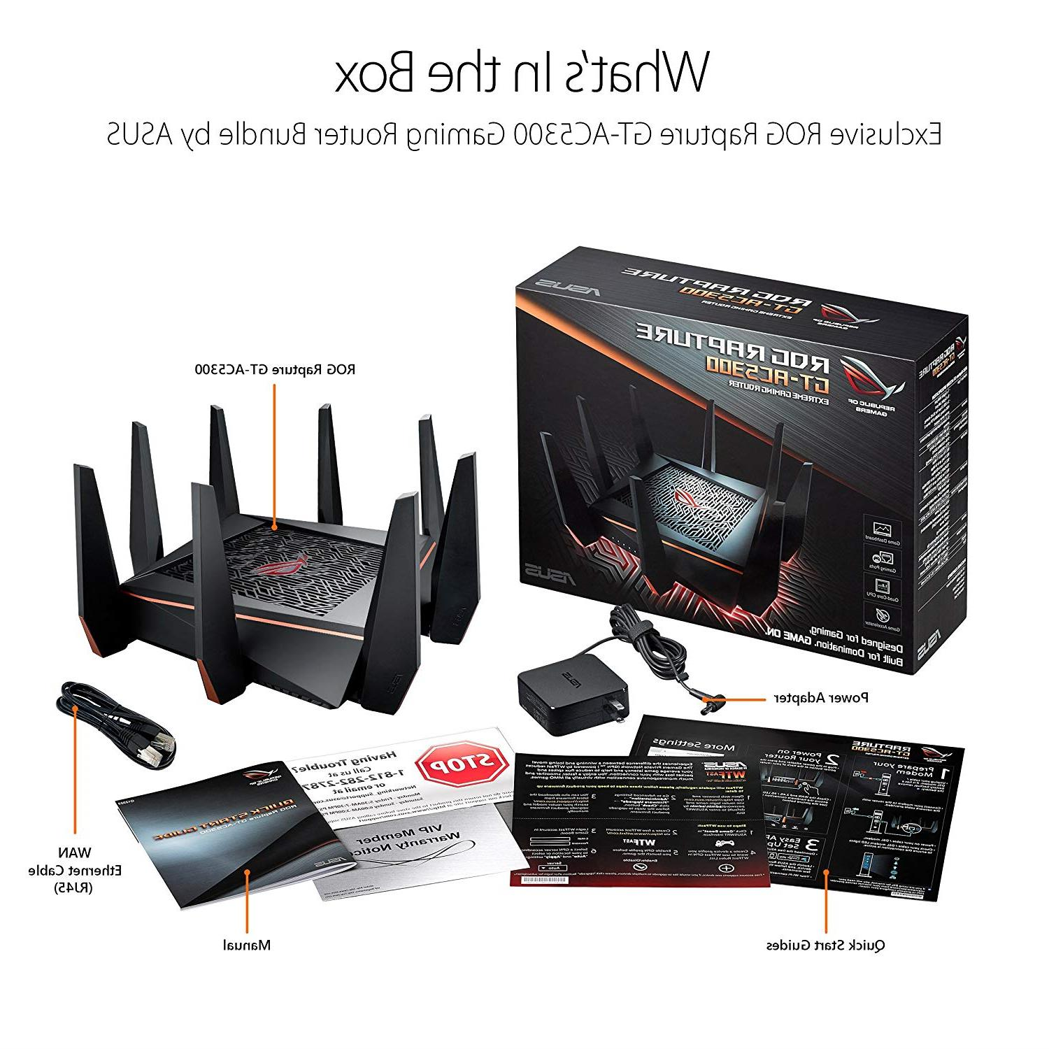ASUS Router WiFi to Mbps for VR 4K