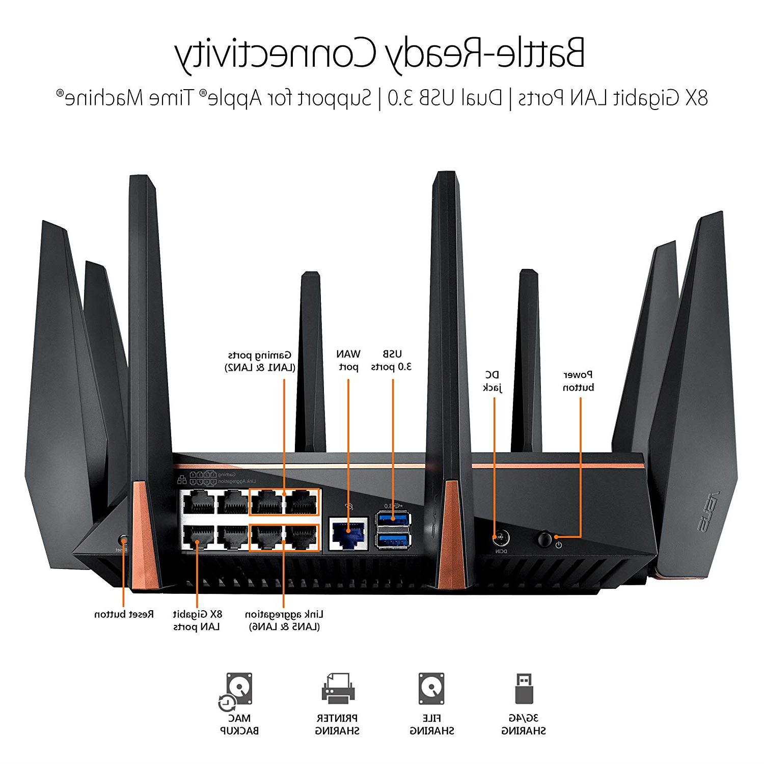 ASUS WiFi Mbps for 4K streaming, 1.8GHz &
