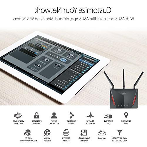 ASUS Gigabit Wireless 1.8GHz Processor and by Micro, Whole Home WiFi