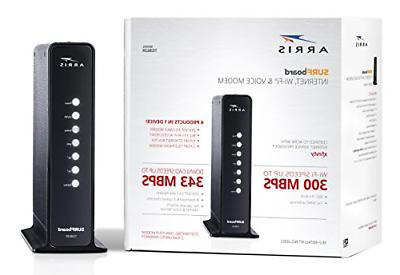 surfboard docsis cable modem telephone