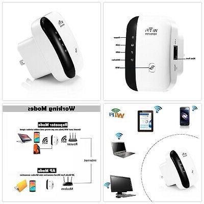 US Plug WiFi 300Mbps Repeater Super Booster Shop