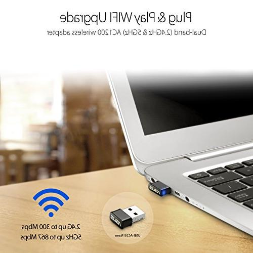 ASUS Nano USB WiFi AC1200 Use
