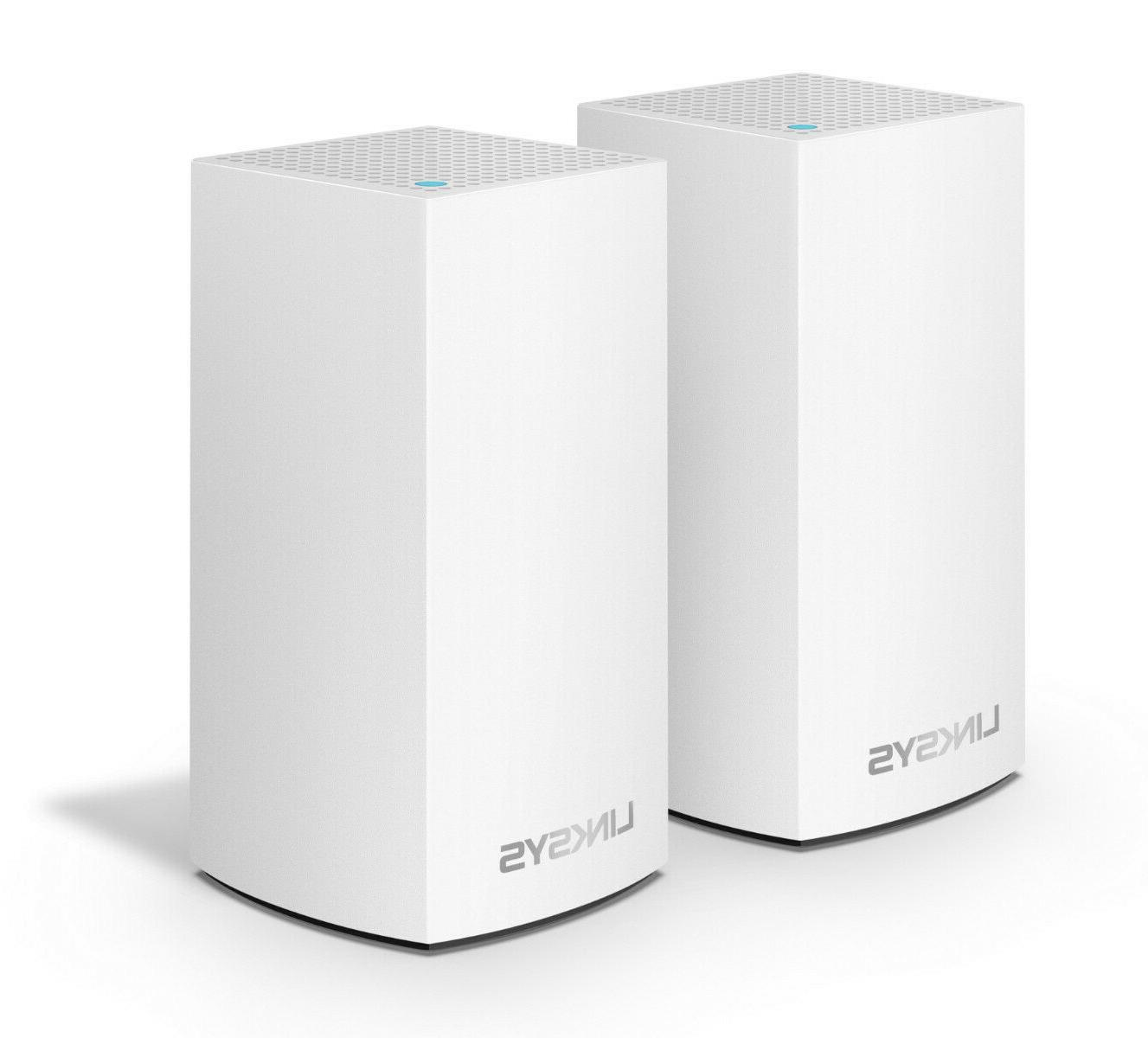 Linksys Velop Mesh Whole home System Pack ft.