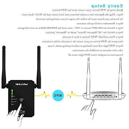 WAVLINK ARIEAL Extender Wi-Fi Repeater Internet Booster Router/AP Access in 1