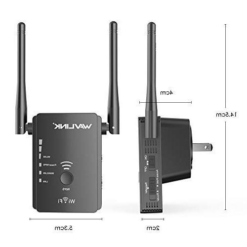 WAVLINK ARIEAL S2 Extender Wi-Fi Internet Signal Booster Router/AP 3 in