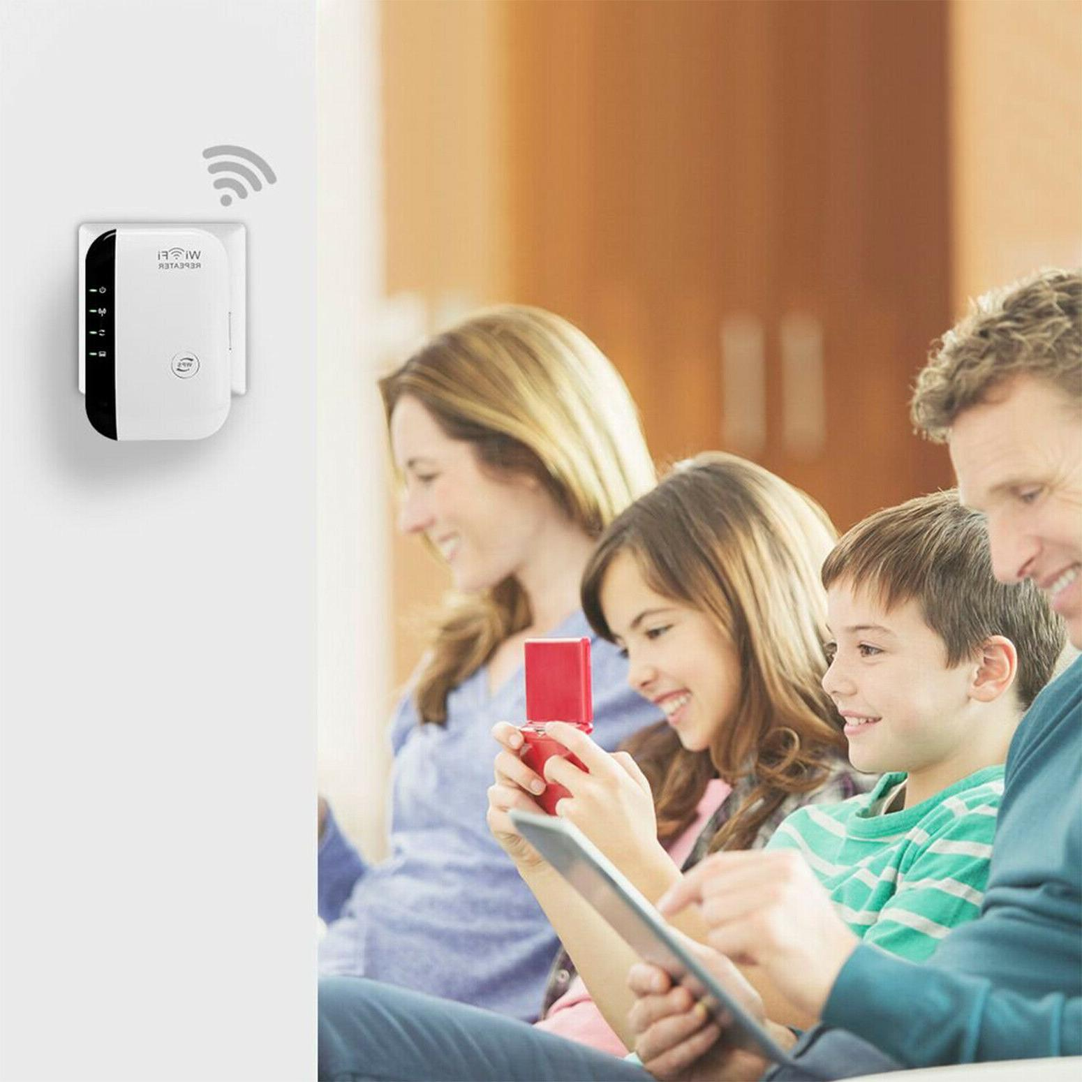 WiFi Range Booster 300Mbps Boost Speed Wireless