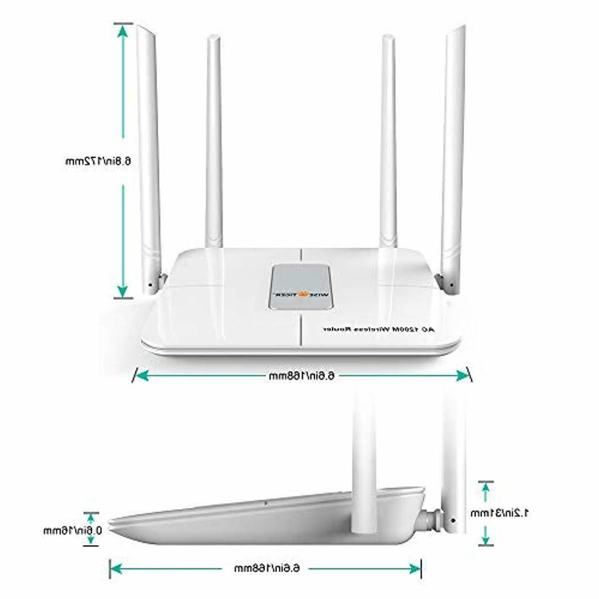 Wifi Router AC Wireless Router for Office Gaming Compatible w
