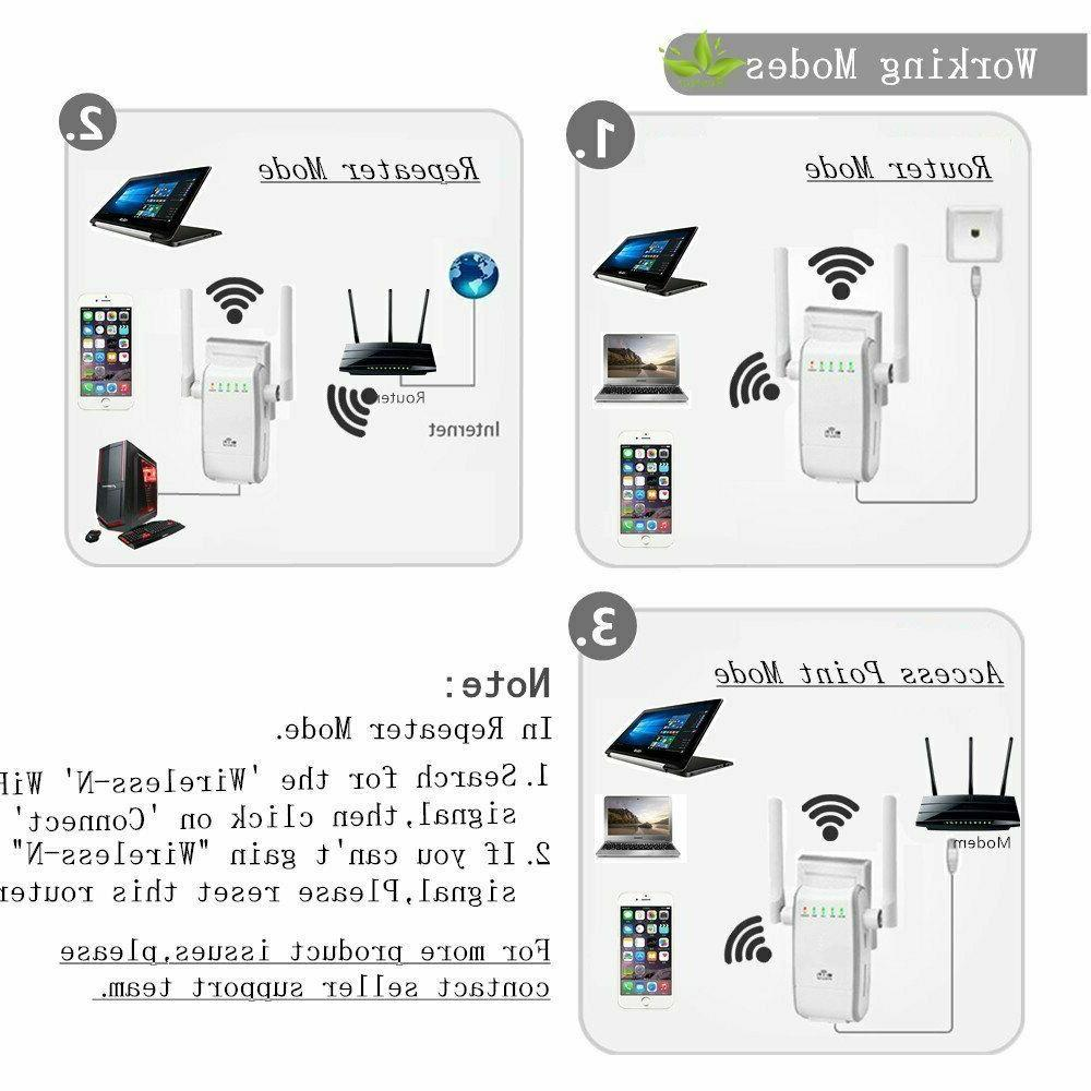 WLAN Router 300Mbps Extender Repeater Internet