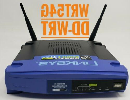 wrt54g dd wrt wireless router wi fi