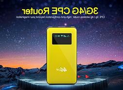 lte router power bank wifi