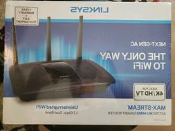LINKSYS MAX-STREAM AC1750 MU-MIMO GIGABIT ROUTER