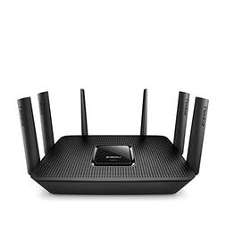 Linksys Max-Stream Ac4000 Mu-Mimo Wifi Tri Band Router, Brow