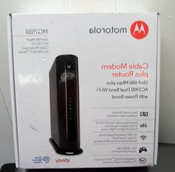 Motorola MG7550 DOCIS 3.0 Cable Modem + AC1900 Wireless Dual