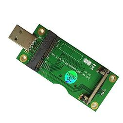 OLEY Adapter Mini PCI-E PCI Express to USB Interface with SI