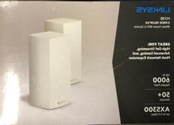 LINKSYS MX10600 MX10 VELOP AX WHOLE HOME WIFI 6 SYSTEM  WHIT