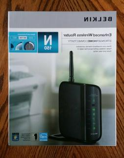 Belkin N150 150 Mbps 4-Port 10/100 Wireless N Router