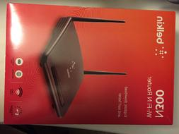 N300 wifi router, black brand new in box never used