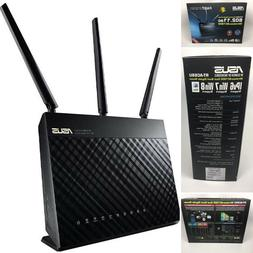 Asus Network RT-AC68U Wireless 802.11ac 1900Mbps Dual Band U
