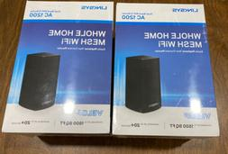 New 2-PACK Linksys Velop Whole Home Mesh Dual-Band WiFi 5 Ro