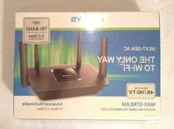 New Linksys Max-Stream AC2200 MU-MIMO Tri-Band WiFi Router F