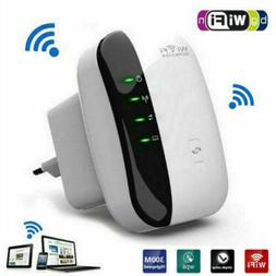 NEW Router Wifi Repeater Super Speed Booster 300Mbps Interne