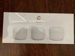 New Sealed Google Nest Wi-Fi 3-Pack AC2200 Mesh System Route