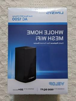 NEW SEALED Linksys Velop Whole Home Mesh Wifi Dual-Band Wifi