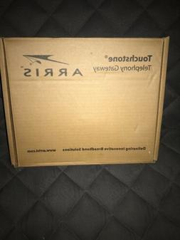NEW Arris TG862G Wireless Wi-Fi Telephony Cable Modem Router