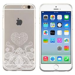 PhoneTatoos  For iPhone 5S Paisley Heart Transparent Clear C