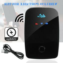 Portable 4G 150Mbps LTE WiFi Wireless Router Mobile Broadban