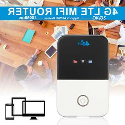 Portable Unlocked 4G Wifi Router LTE Wireless Car Mobile Hot
