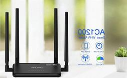 High Power Wireless Router AC1200 Dual Band 802.11AC Designe