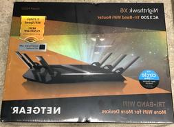 Netgear R8000-100NAS Nighthawk X6 AC3200 Tri-Band WiFi Route