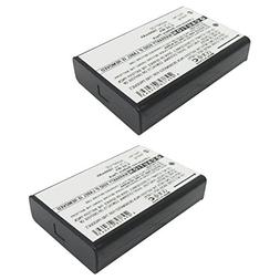 2X 3.7V Battery Replaces WR-ED6210 Fits Edimax 3G-6210n 445N