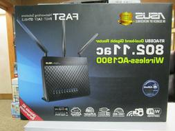 Asus RT-AC68U Dual-Band Gigabit Router 802.11ac Wireless AC1