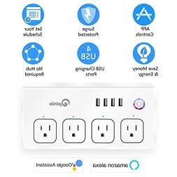 Smart Power Strip, Wifi Surge Protector, Voice Control with