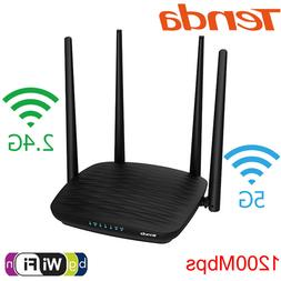 Tenda AC5 Dual Band Wifi Repeater&Router 2.4G&5G 1200M Wirel